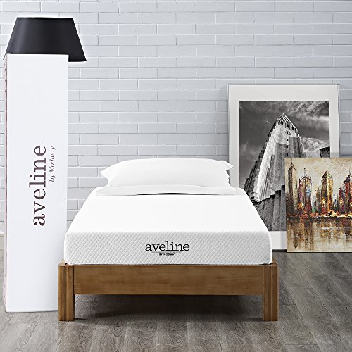 "Aveline 6"" Gel Infused Memory Foam Twin Mattress With CertiPUR-US Certified Foam"